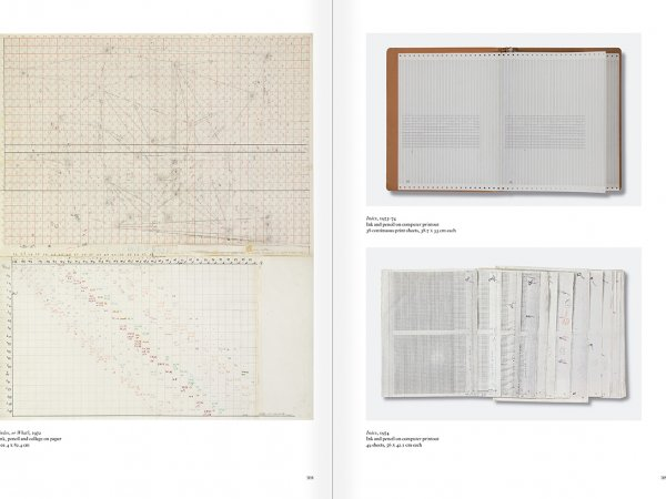 Selection from the catalogue 'Art & Language. Uncompleted', pages  108 and 109