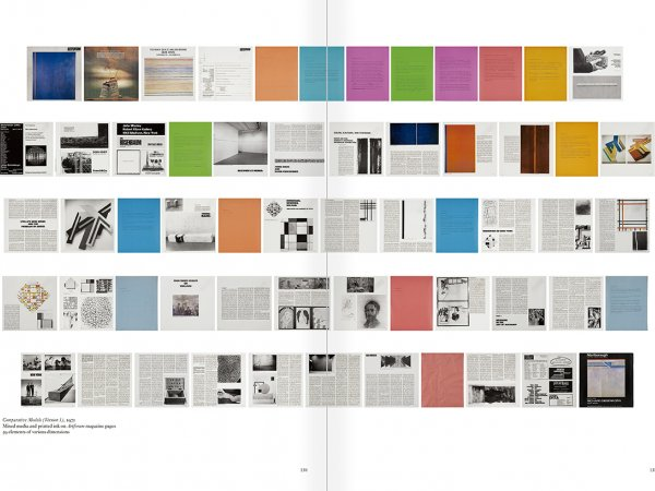 Selection from the catalogue 'Art & Language. Uncompleted', pages  130 and 131