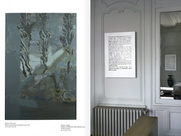 """Selección del catálogo """"Art & Language. Incompleto"""", páginas 140 y 141"""