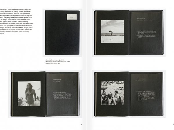Selection from the catalogue 'Art & Language. Uncompleted', pages  58 and 59