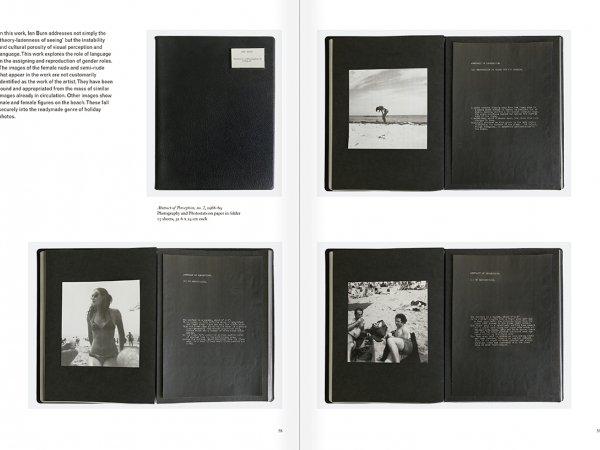 """Selección del catálogo """"Art & Language. Incompleto"""", páginas 58 y 59"""