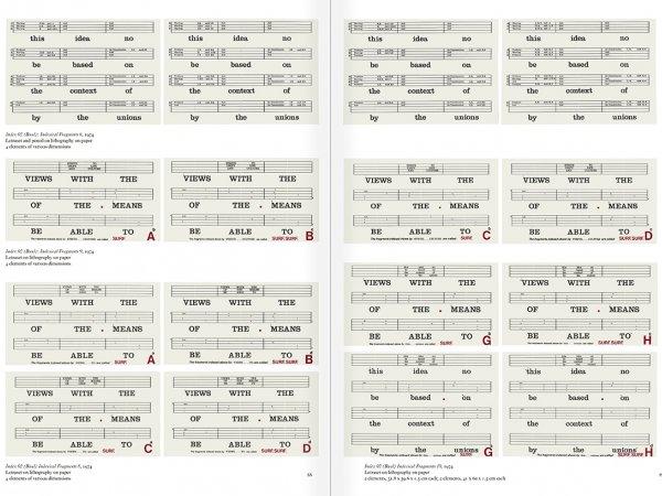 """Selección del catálogo """"Art & Language. Incompleto"""", páginas 88 y 89"""