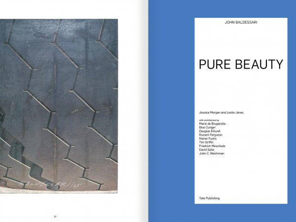 Selection from the catalogue 'John Baldessari. Pure Beauty', pages 10 and 11