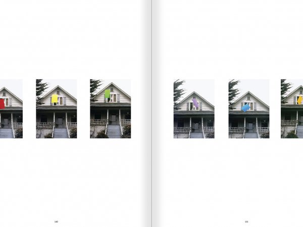 Selection from the catalogue 'John Baldessari. Pure Beauty', pages 110 and 111