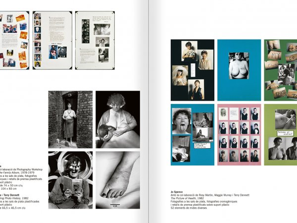Selection from the catalogue 'Relational Objects. MACBA Collection 2002-07', pages 148 and 149