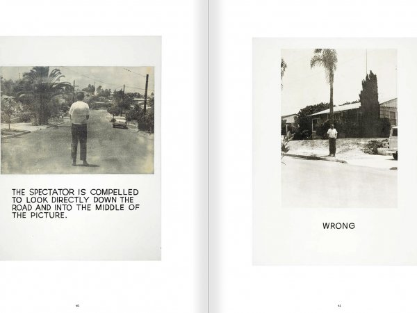 Selection from the catalogue 'John Baldessari. Pure Beauty', pages 40 and 41