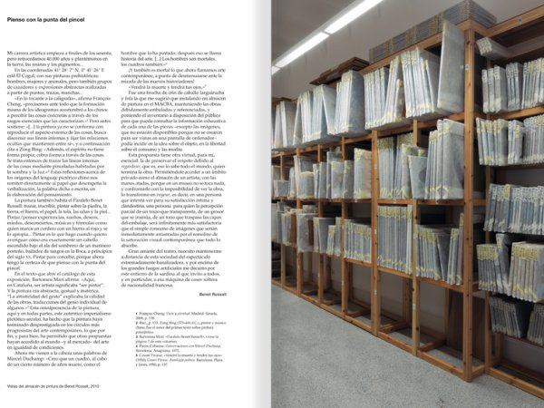 Selection from the catalogue 'Paralelo Benet Rossell', pages 144 and 145