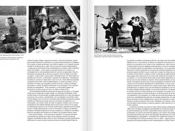 """Selecció del catàleg """"Paral·lel Benet Rossell"""" pàgines 192 i 193"""