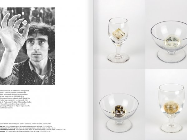 Selection from the catalogue 'Paralelo Benet Rossell', pages 28 and 29