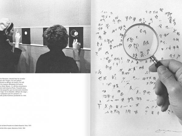 """Selecció del catàleg """"Paral·lel Benet Rossell"""" pàgines 30 i 31"""