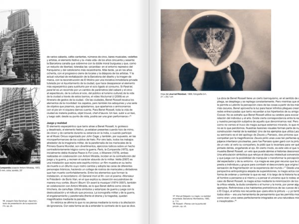 Selection from the catalogue 'Paralelo Benet Rossell', pages 56 and 57