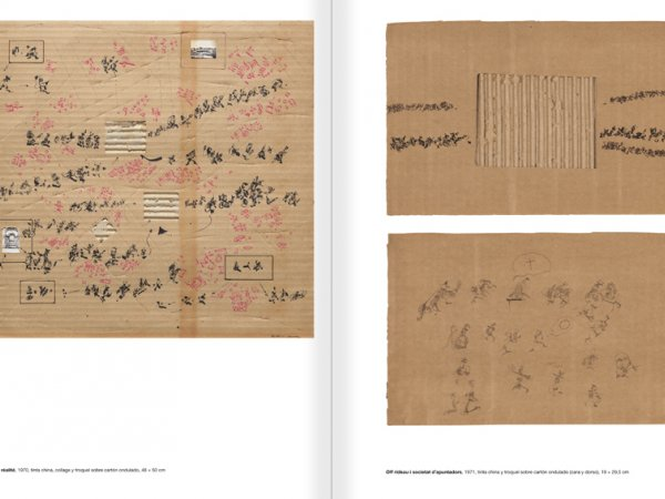 """Selecció del catàleg """"Paral·lel Benet Rossell"""" pàgines 60 i 61"""