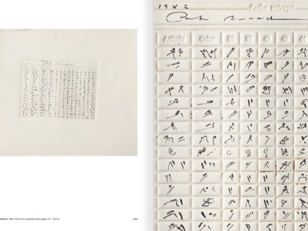 Selection from the catalogue 'Paralelo Benet Rossell', pages 90 and 91