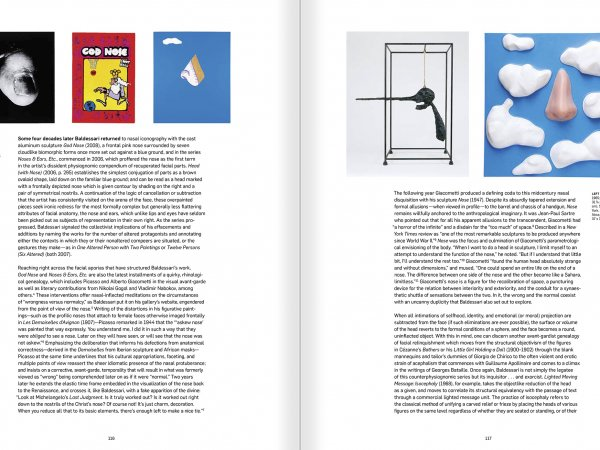 Selection from the catalogue 'John Baldessari. Pure Beauty', pages 116 and 117