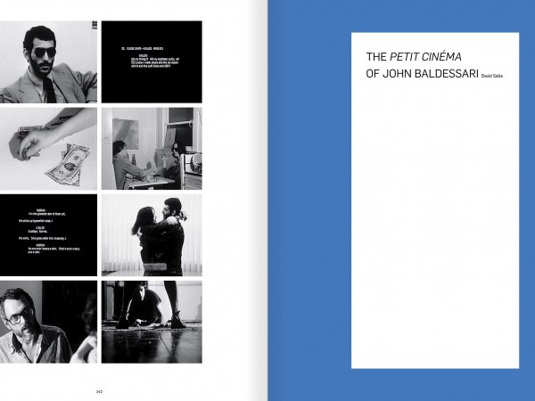 Selection from the catalogue 'John Baldessari. Pure Beauty', pages 142 and 143