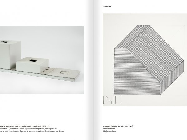 Selection from the catalogue 'With a Probability of Being Seen. Dorothee and Konrad Fischer: Archives of an Attitude', pages 208 and 209