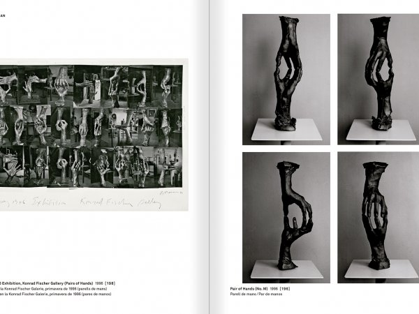 Selection from the catalogue 'With a Probability of Being Seen. Dorothee and Konrad Fischer: Archives of an Attitude', pages 276 and 277