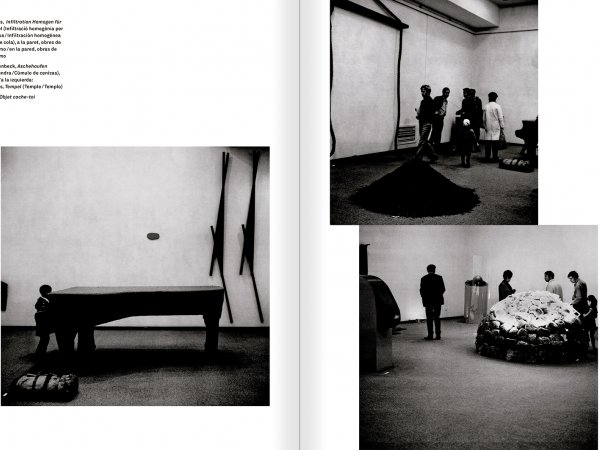 Selection from the catalogue 'With a Probability of Being Seen. Dorothee and Konrad Fischer: Archives of an Attitude', pages 66 and 67