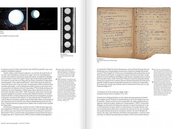 """Selecció del catàleg """"Gil J Wolman. Sóc inmortal i estic viu"""" pàgines 122 i 123"""