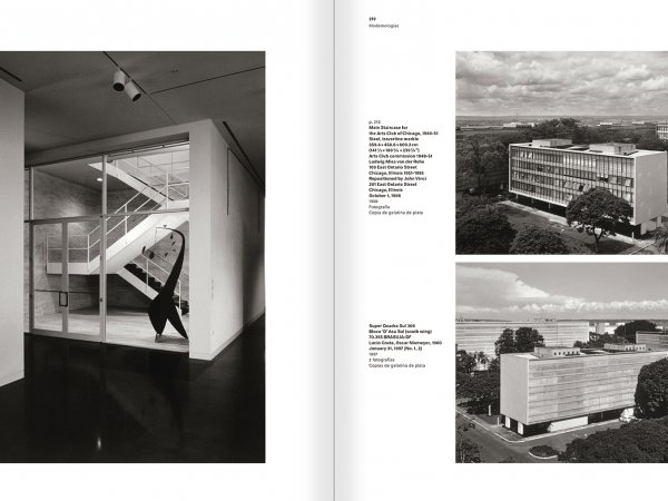 """Selección del catálogo """"Modernologías. Artistas contemporáneos investigan la modernidad y el modernismo"""" páginas 218 y 219"""