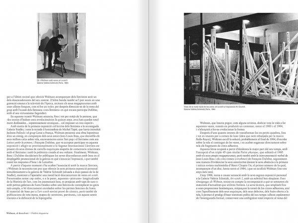 """Selecció del catàleg """"Gil J Wolman. Sóc inmortal i estic viu"""" pàgines 28 i 29"""
