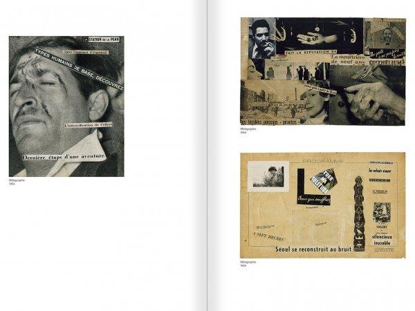 """Selecció del catàleg """"Gil J Wolman. Sóc inmortal i estic viu"""" pàgines 46 i 47"""