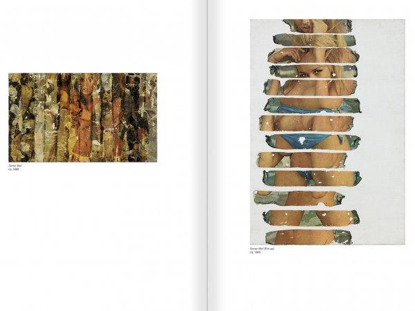 """Selecció del catàleg """"Gil J Wolman. Sóc inmortal i estic viu"""" pàgines 76 i 77"""