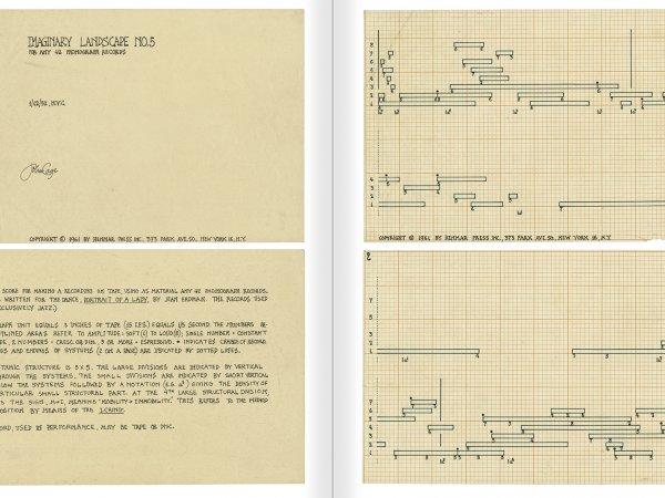 """Selecció del catàleg """"L'anarquia del silenci. John Cage i l'art experimental"""" pàgines 156 i 157"""