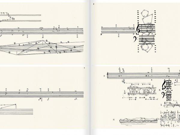 """Selecció del catàleg """"L'anarquia del silenci. John Cage i l'art experimental"""" pàgines 208 i 209"""