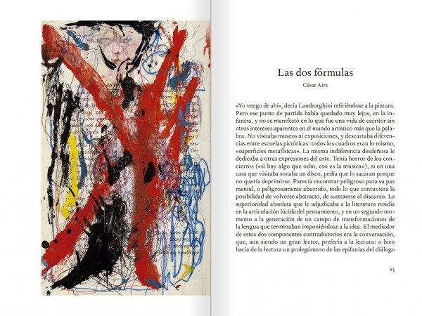 """Selecció del catàleg """"El sexo que habla. Osvaldo Lamborghini"""" pàgines 22 i 23"""