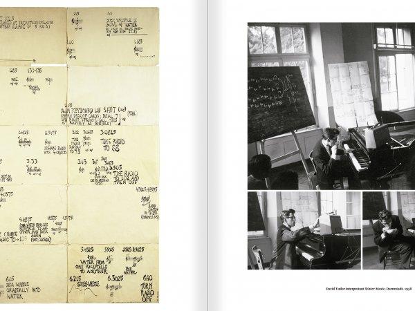 """Selecció del catàleg """"L'anarquia del silenci. John Cage i l'art experimental"""" pàgines 242 i 243"""