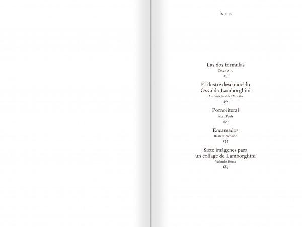 """Selecció del catàleg """"El sexo que habla. Osvaldo Lamborghini"""" pàgines 4 i 5"""
