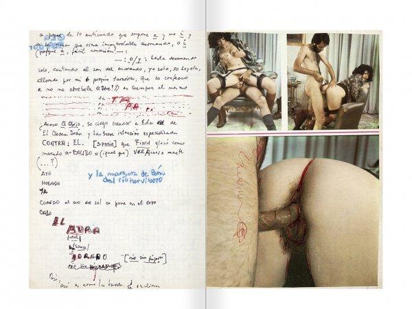 """Selecció del catàleg """"El sexo que habla. Osvaldo Lamborghini"""" pàgines 94 i 95"""