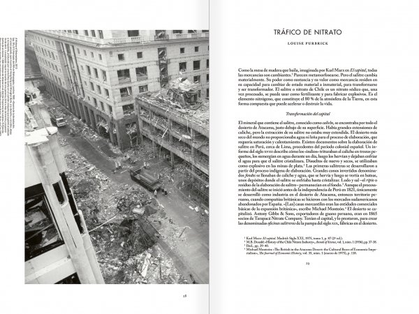 """Selección del catálogo """"Xavier Ribas. Nitrato"""" páginas 28 y 29"""