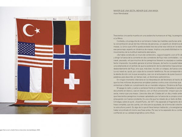"""Selecció del catàleg """"Asier Mendizabal"""" pàgines 114 i 115"""
