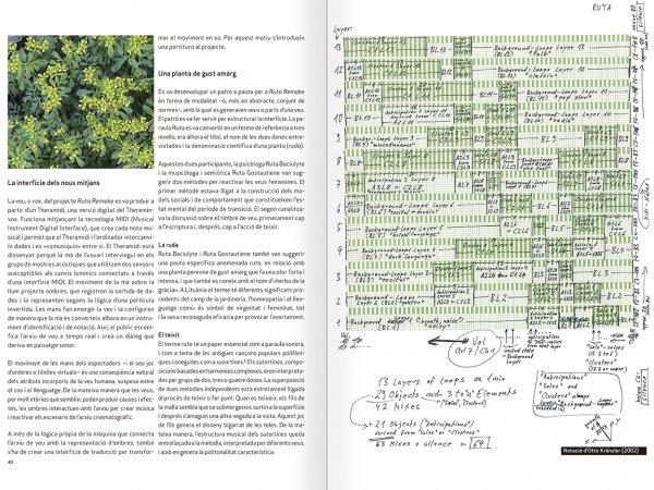 """Selecció del catàleg """"Nomeda & Gediminas Urbonas. Dispositius per a l'acció"""" pàgines 40 i 41"""