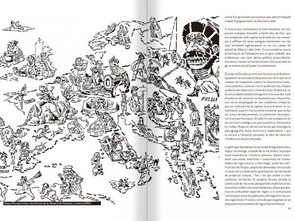 """Selecció del catàleg """"Nomeda & Gediminas Urbonas. Dispositius per a l'acció"""" pàgines 52 i 53"""