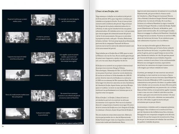"""Selecció del catàleg """"Nomeda & Gediminas Urbonas. Dispositius per a l'acció"""" pàgines 58 i 59"""