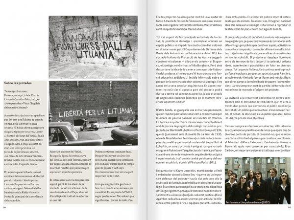 """Selecció del catàleg """"Nomeda & Gediminas Urbonas. Dispositius per a l'acció"""" pàgines 94 i 95"""