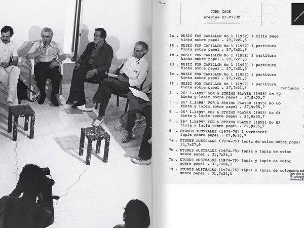 """Selecció del catàleg """"Galeria Cadaqués. Obres de la Col·lecció Bombelli"""" pàgines 106 i 107"""