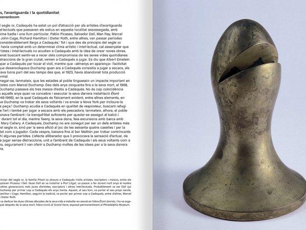 """Selecció del catàleg """"Galeria Cadaqués. Obres de la Col·lecció Bombelli"""" pàgines 18 i 19"""