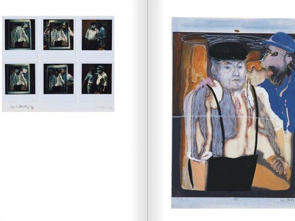 """Selecció del catàleg """"Galeria Cadaqués. Obres de la Col·lecció Bombelli"""" pàgines 48 i 49"""