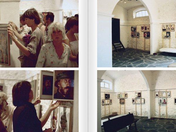 """Selecció del catàleg """"Galeria Cadaqués. Obres de la Col·lecció Bombelli"""" pàgines 62 i 63"""