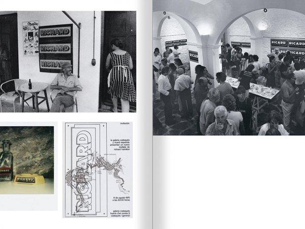 """Selecció del catàleg """"Galeria Cadaqués. Obres de la Col·lecció Bombelli"""" pàgines 72 i 73"""
