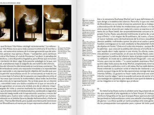 """Selección del catálogo """"Carlos Pazos. No me digas nada"""" páginas 214 y 215"""