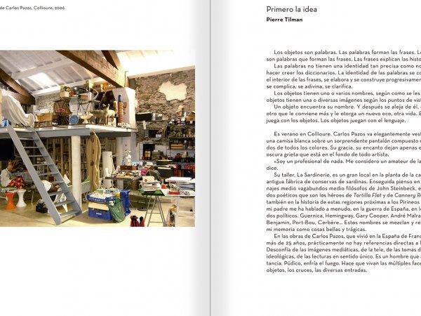 """Selección del catálogo """"Carlos Pazos. No me digas nada"""" páginas 240 y 241"""