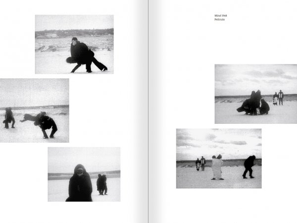 Selection from the catalogue 'Joan Jonas. Timelines: Transparencies in a Dark Room', pages 54 and 55