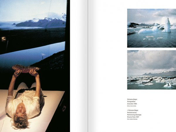 Selection from the catalogue 'Joan Jonas. Timelines: Transparencies in a Dark Room', pages 88 and 89