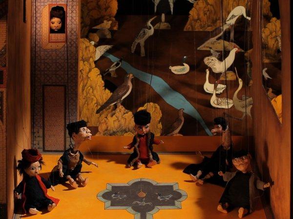 "Wael Shawky ""Cabaret Crusades: The Path to Cairo"", 2012 Vídeo monocanal, color, so, 58 min Col·lecció MACBA. Fundació MACBA. Museum of Modern Art in Warsaw © Wael Shawky, 2015"