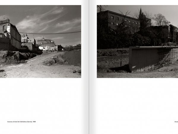 Selection from the catalogue 'Barcelona 1978-1997. Manolo Laguillo', pages 156 and 157